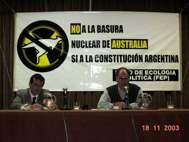 Protesta contra vertidos nucleares al mar