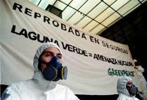 Protesta contra actividades nucleares