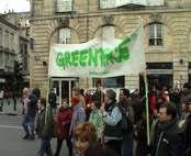 Manifestación ecologista